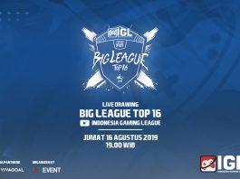 Hasil Drawing Big 16 FIFA 19 FUT Indonesia Gaming League