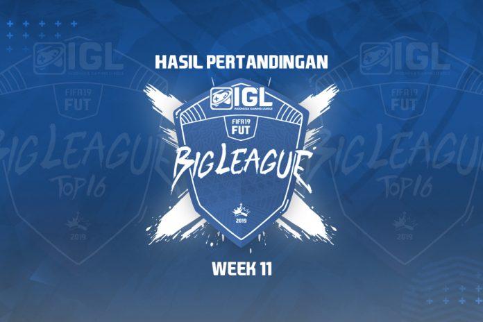 Hasil Pekan Kesebelas Big League FIFA 19 FUT: 16 Top Player Sudah Lolos ke Fase Selanjutnya
