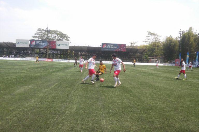 D'Fourty FC Pesta Gol Ke Gawang Anak Rantau FC