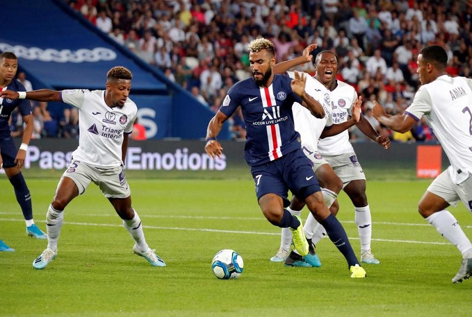 Choupo-Moting Dua Gol, PSG Gilas Toulouse 4-0