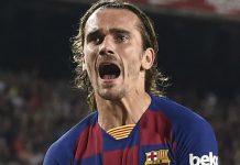 Sepasang Gol Griezmann Pastikan Kemenangan Barcelona