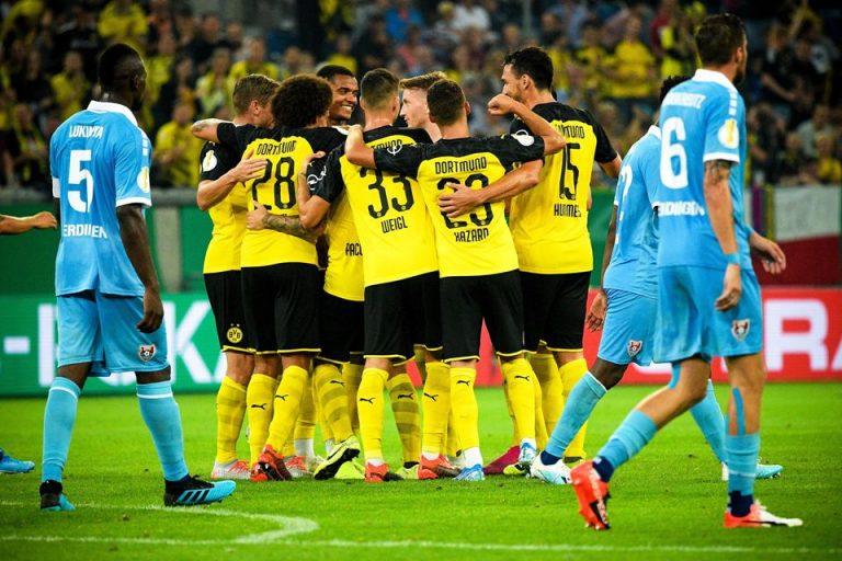 Hasil DFB-Pokal Jerman: Dortmund Menang 2-0 Lawan Tim Divisi Tiga