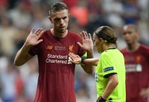 Henderson Liverpool Chelsea Supercup