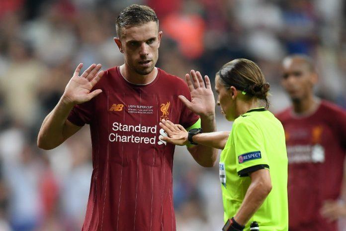 Henderson Liverpool Chelsea Supercup