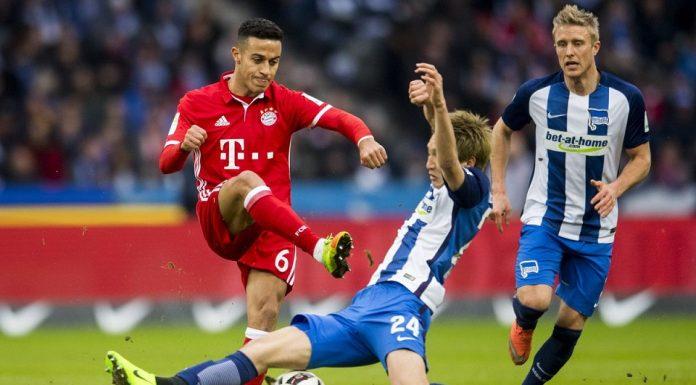 Juara bertahan Bundesliga Jerman, Bayern Munchen mengawali musim 2019/2020 dengan hasil yang kurang sip. Die Roten ditahan imbang 2-2 oleh Hertha