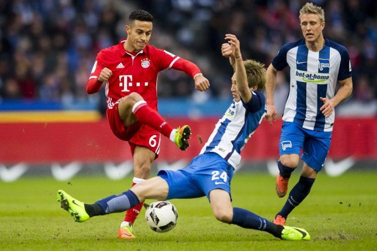 Laga Perdana di Kandang, Bayern Ditahan Imbang 2-2 Hertha Berlin