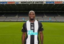 Newcastle United Sukses Pinjam Fullback Frankfurt