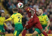 Hasil Liga Inggris Liverpool Norwich
