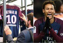PSG Hentikan Penjualan Jersey Neymar, Kenapa?