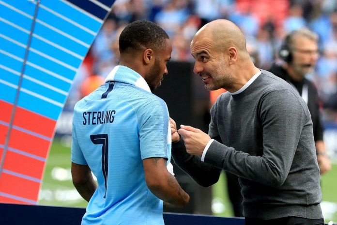 Pep Guardiola Sterling