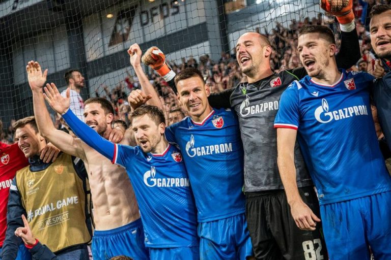 Laga Copenhagen Dengan Red Star Belgrade Diwarnai 22 Penalti