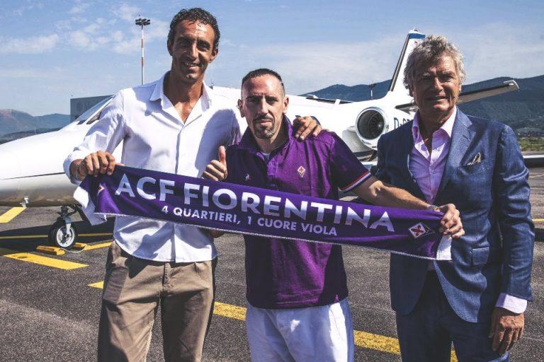 Fiorentina Dapatkan Jasa Frank Ribery