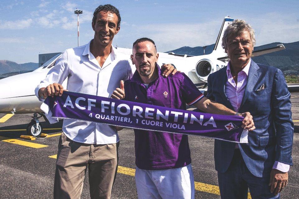 Frank Ribery ke Fiorentina