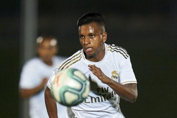 Rodrygo Goes Absen Bersama Madrid