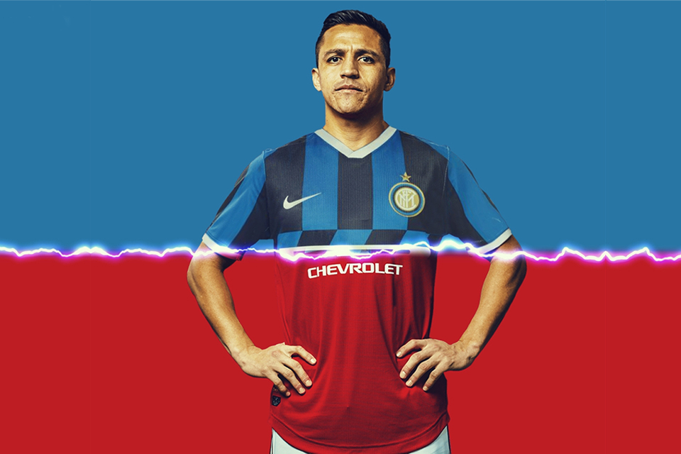 Inter Resmi Pinjam Alexis Sanchez dari Manchester United