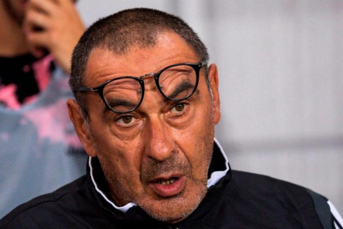 Sarri Berpeluang Temani Juventus Saat Melawan Napoli