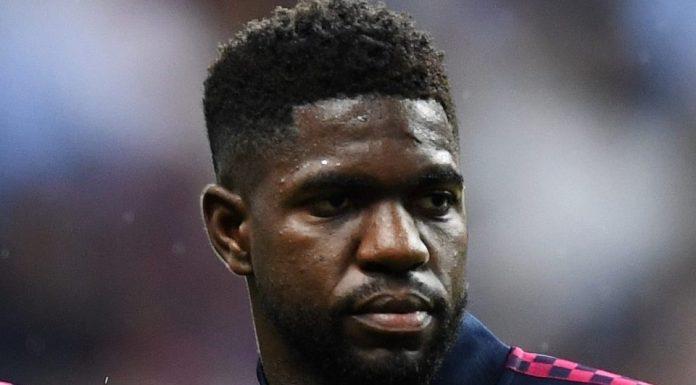 Belum Ada Tawaran Resmi, Samuel Umtiti Bakal Bertahan Di Barcelona?