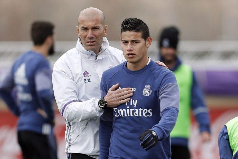 Nama James Hilang Dalam Daftar Skuad Madrid Kontra Bilbao, Zidane: Dia Tak Mau Main