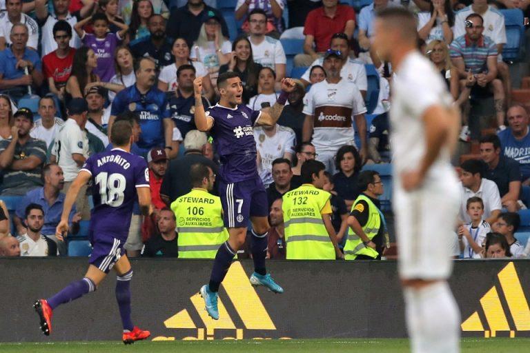 Gol Di Menit Terakhir Valladolid Buyarkan Kemenangan Madrid
