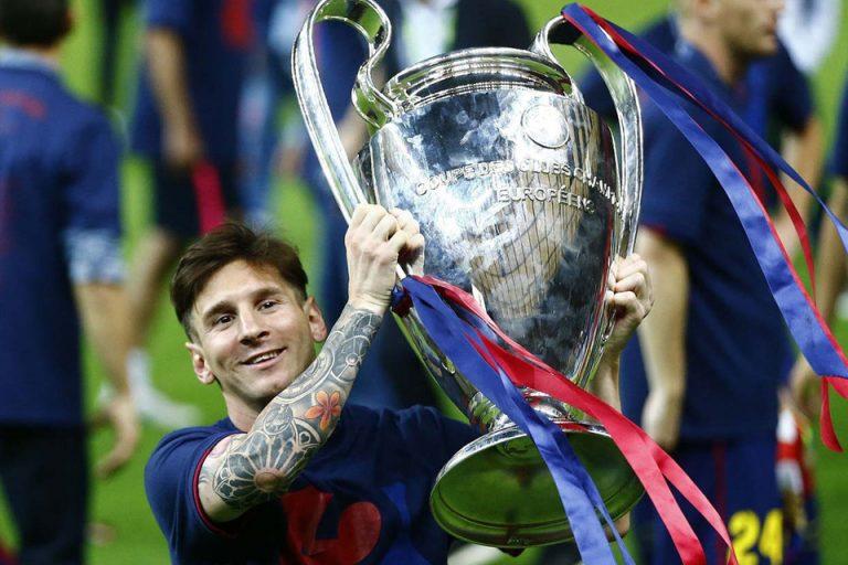 Usai Gagal Raih Trofi Liga Champions, Messi Berikan Motivasi kepada Rekannya