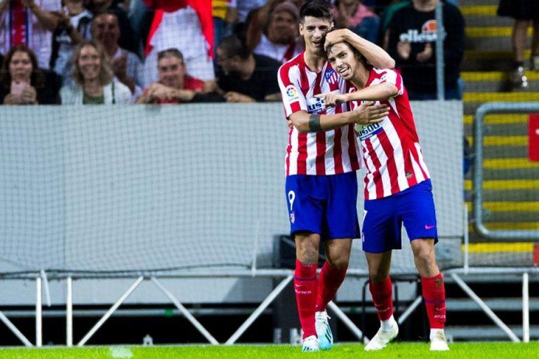 Hentikan Inkonsistensi, Simeone Pasang Felix, Costa dan Morata