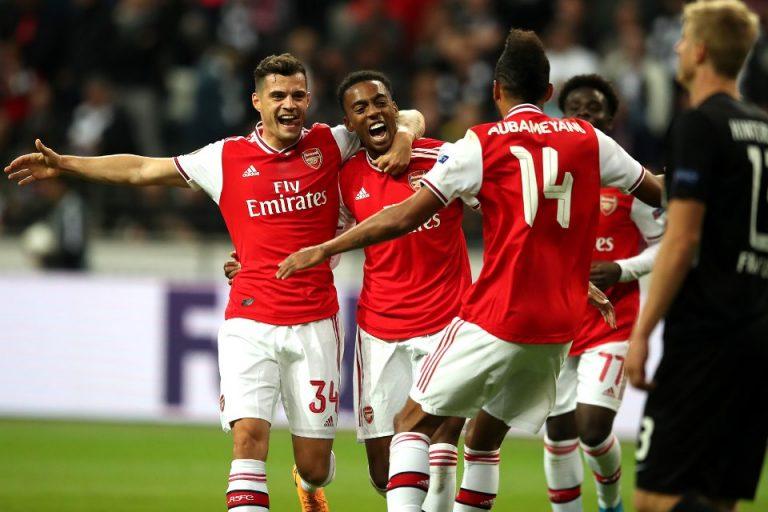 Frankfurt Tak Terima Kalah dari Arsenal