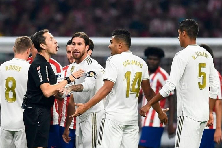 Atletico vs Madrid: Derbi Madrileno Berakhir Sama Kuat