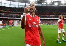 Aubameyang Jadi Penyerang Paling Efisien di Premier League
