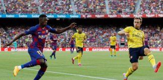 Barcelona Konfirmasi Dembele Kembali Alami Cedera Hamstring