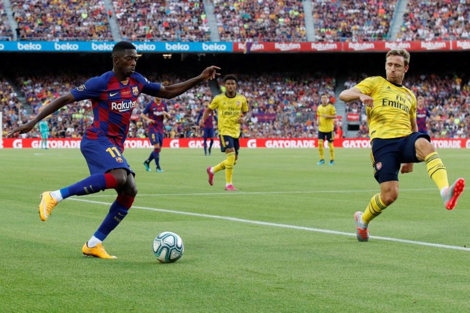 Agen Tegaskan Dembele Tetap Berseragam Barcelona Musim Depan