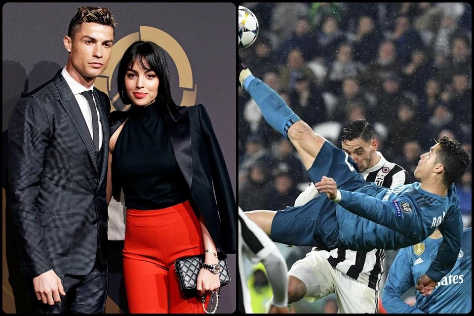 Pilih Gol Salto ke Gawang Juve atau Georgina? Ini Jawaban Ronaldo