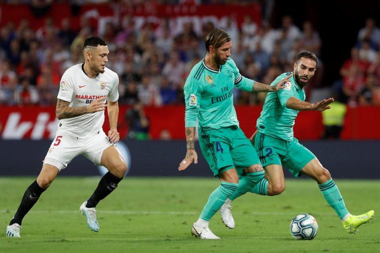 Ditengah Rumor Pemecatan, Zidane Senang Madrid Bisa Atasi Sevilla