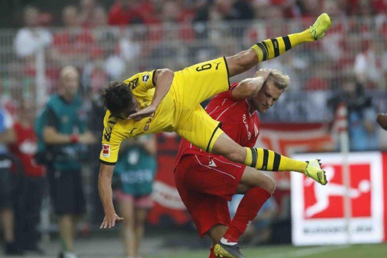 Dortmund Dipermalukan Tim Promosi Union Berlin 3-1