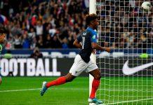 Dua Gol Kingsley Coman Bantu Menangkan Prancis Atas Albania