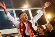 Falcao DIsambut Ribuan Fans Galatasaray