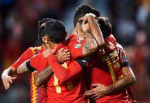 Hasil Euro 2020 Spanyol Pesta Gol, Gasak Kep Faroe 4-0