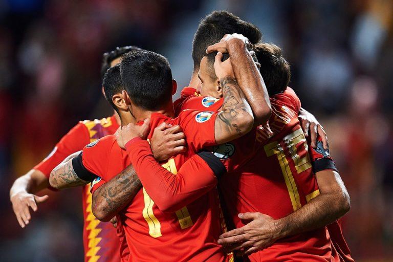 Hasil Euro 2020: Spanyol Pesta Gol, Gasak Kep Faroe 4-0