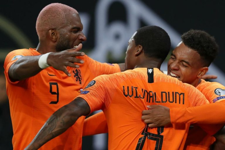 Hasil Kualifikasi Euro 2020: Belanda Hajar Estonia 4-0