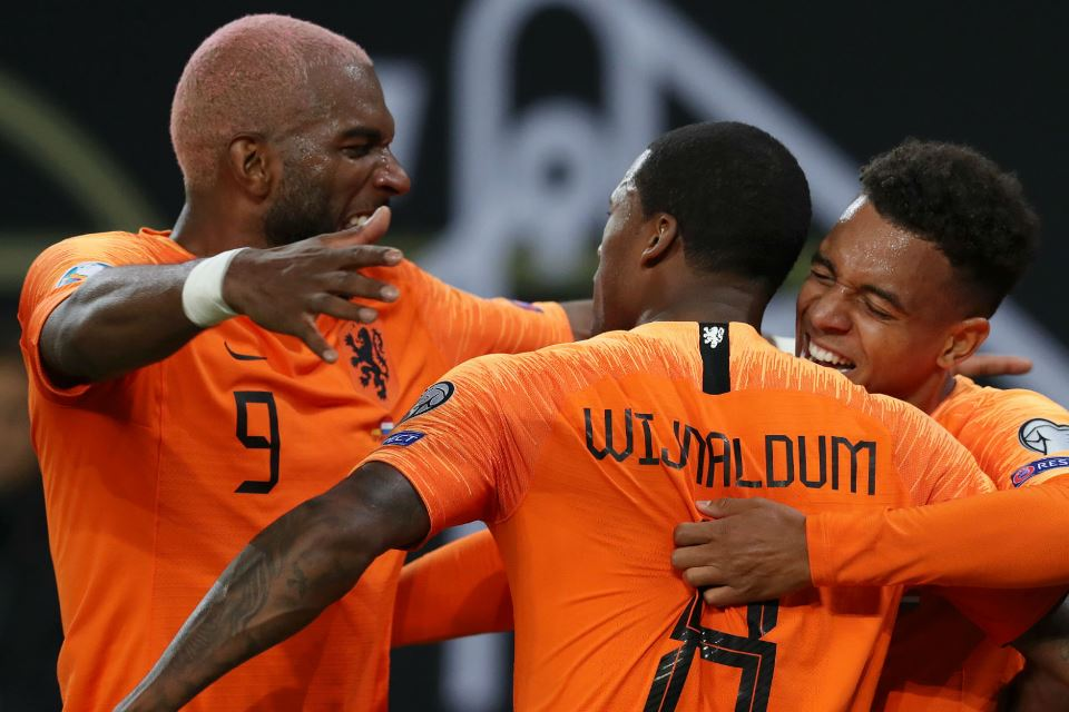 Hasil Kualifikasi Euro 2020 Belanda Hajar Estonia 4-0