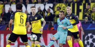 Hasil Liga Champions Duel Dortmund Lawan Barcelona Berakhir Sama Kuat