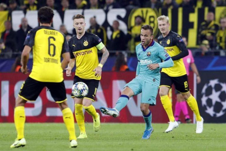 Hasil Liga Champions: Duel Dortmund Lawan Barcelona Berakhir Sama Kuat