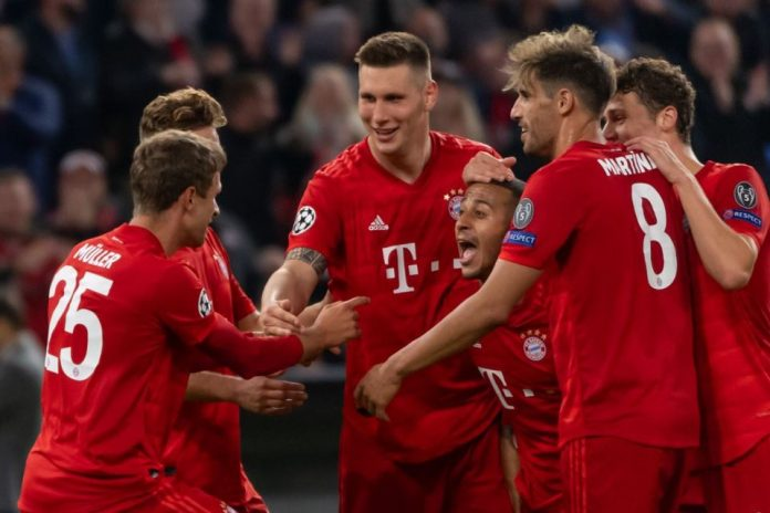 Hasil Matchday I Liga Champions Bayern Libas Red Star Tiga Gol Tanpa Balas