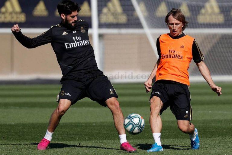 Luka Modric dan Isco Siap Tampil dalam Derby Madrid
