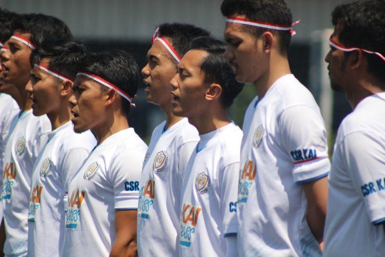 KAI Access FC Menang Tipis Atas Expolban Soccer FC