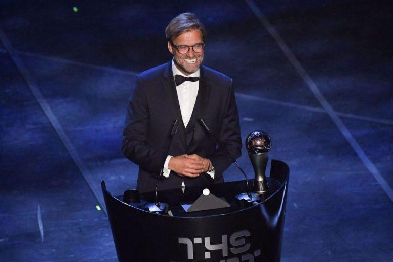 Sabet Gelar Pelatih Terbaik FIFA, Klopp: Terima Kasih Liverpool
