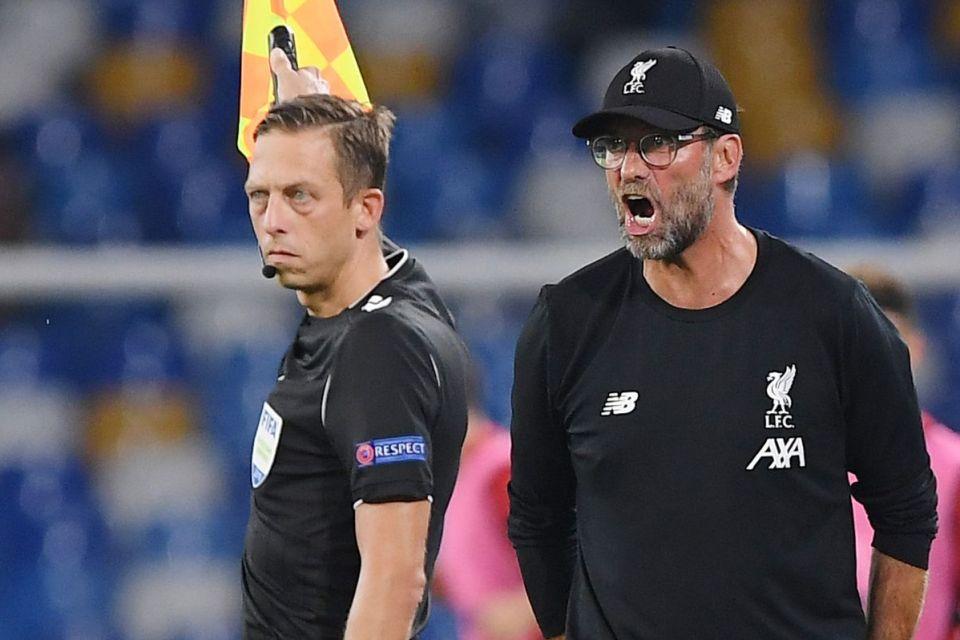 Klopp Kritik Kepemimpinan Wasit di Laga Liverpool Vs Napoli
