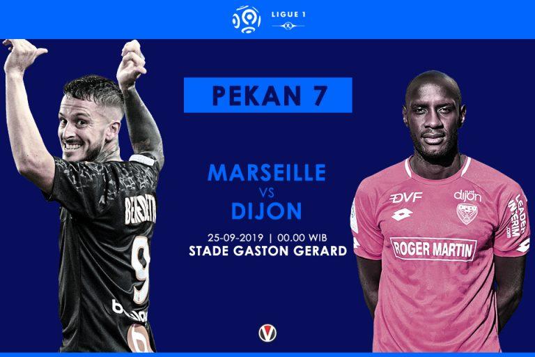 Prediksi Marseille Vs Dijon: Ambisi Tim Juru Kunci Raih Kemenangan Perdana