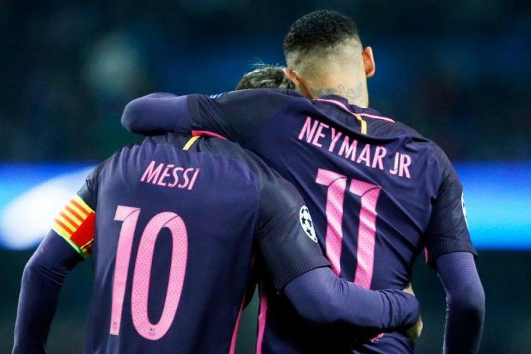 Messi Curhat kepada Neymar Terkait Masa Depannya Lewat WA