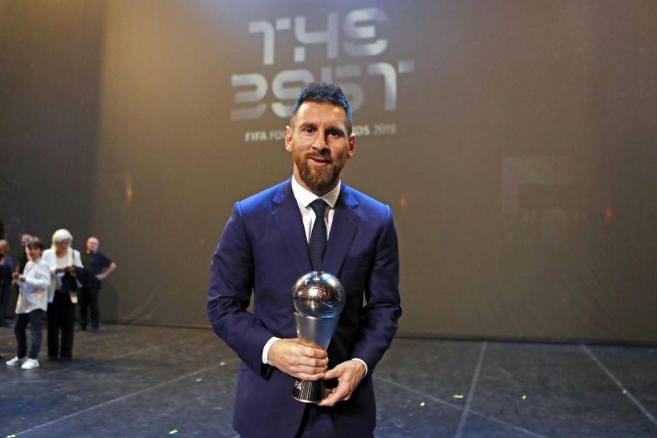 Messi Terpilih Menjadi Pemain Terbaik Versi FIFA Football Awards 2019