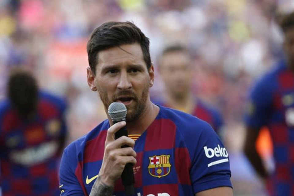 Takut Cederanya Kambuh, Messi Tidak Ingin Buru-Buru Main